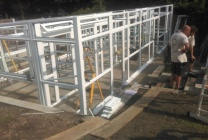 Peticular Pens - Bespoke uPVC Cattery - Cats @ Ratcliffe Luxury Cat Hotel - Build