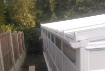 Peticular Pens - Bespoke uPVC Cattery - Cats @ Ratcliffe Luxury Cat Hotel - Rear