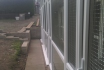 Peticular Pens - Hygienic uPVC Cattery - Cats @ Ratcliffe Luxury Cat Hotel - Front