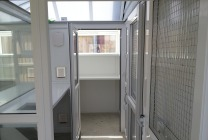 Peticular Pens - Hygienic uPVC Cattery - RSPCA West Norfolk - Pen