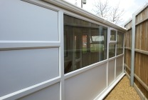 Peticular Pens - Bespoke uPVC Cattery - RSPCA West Norfolk - Side