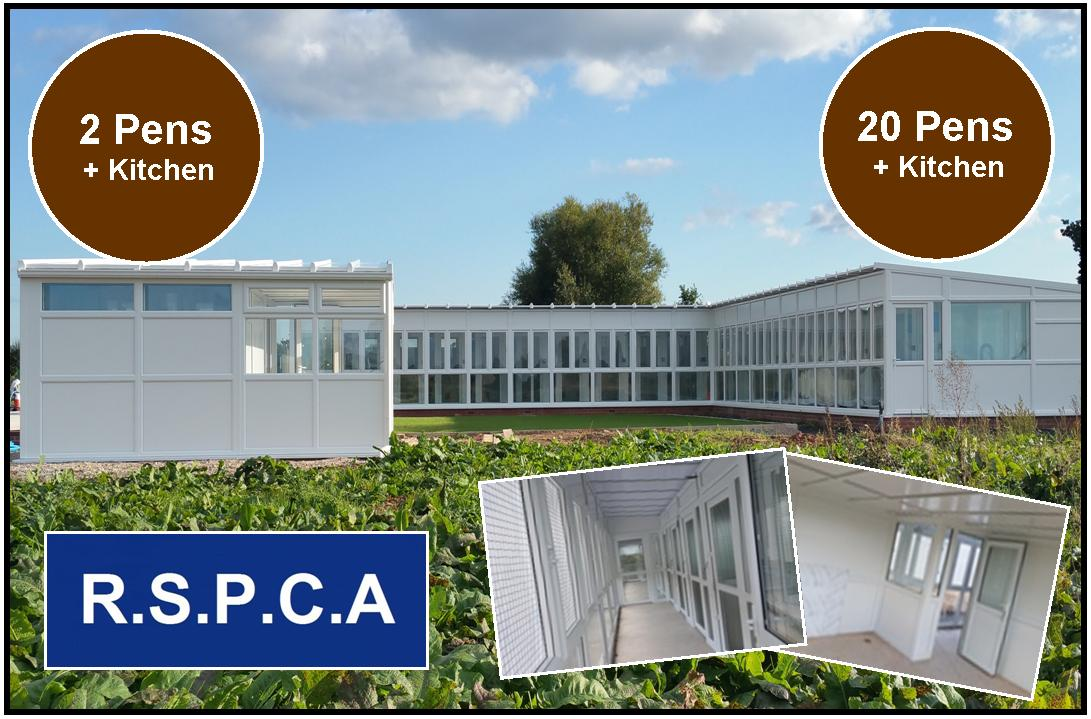 Peticular Pens - Bespoke uPVC Cattery - Worcester & Mid-Worcestershire RSPCA