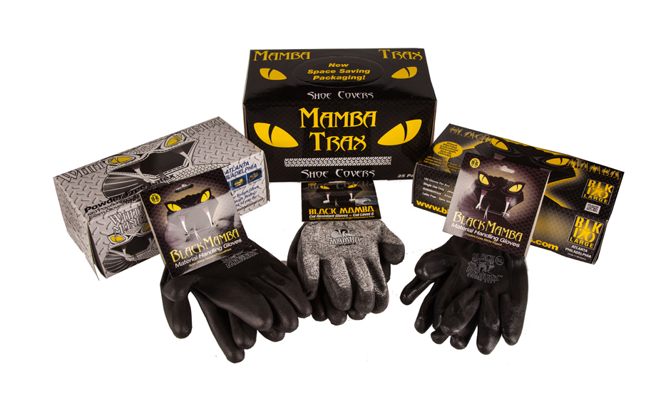 Black Mamba Non Disposable Gloves