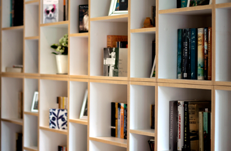 Bespoke shelving - Title image - Matthew McCrossan - Newcastle upon Tyne - Cabinet maker