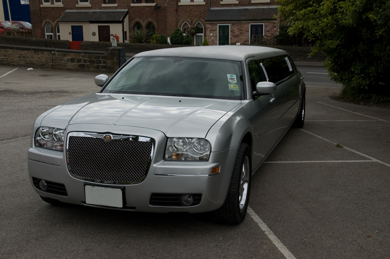 Silver Baby Bentley Limo Tamworth