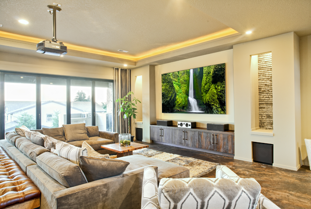 Awesome Stunning Home Av System Design Images   3D House Designs   Veerle.us