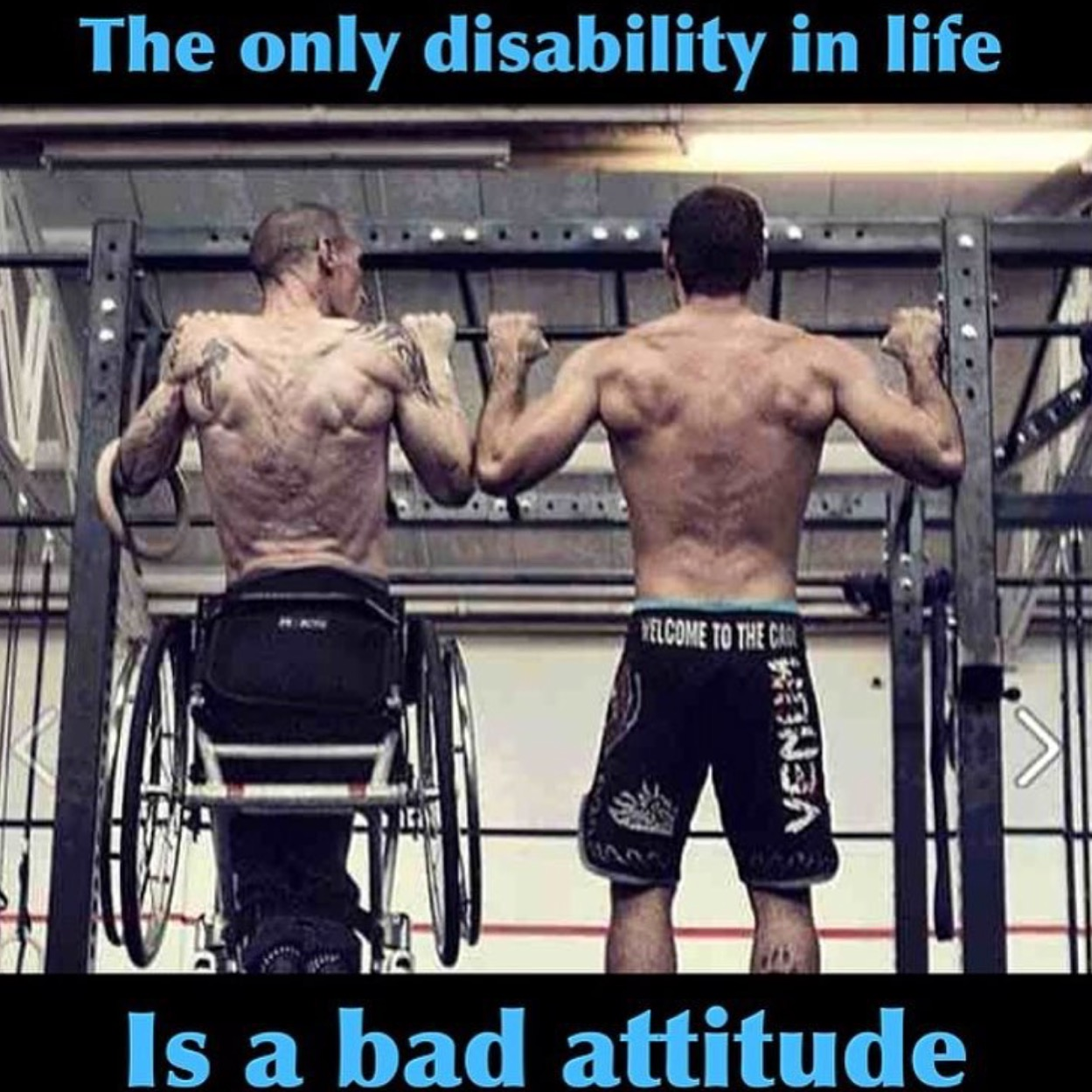 The Only Disability In Life