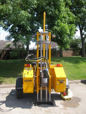 Coring Trailer Coring Rig Drilling Diamond Coring Trailer, Diamond trailer, Diamond Rig, Hire, Tall Mast, drill 1m deep