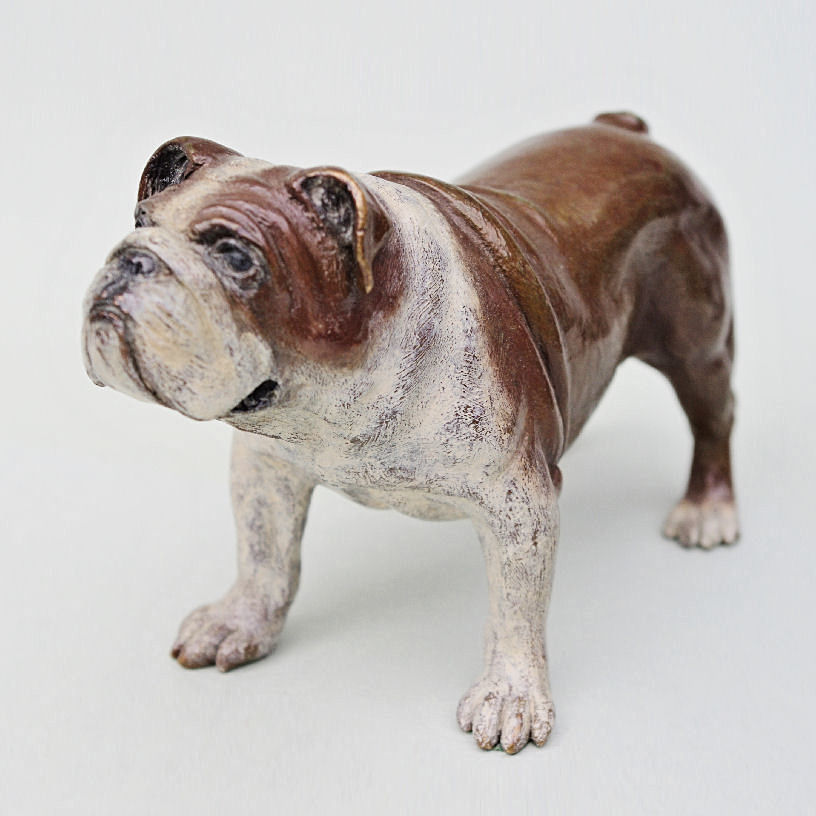 Bronze Bulldog Front Left