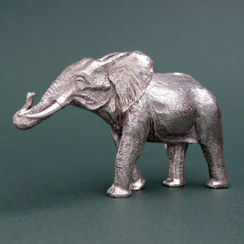 Silver elephant 1 left