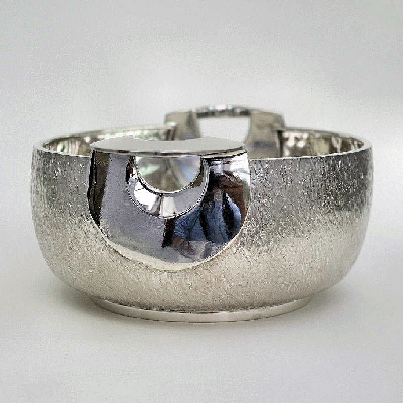 silver olive bowl