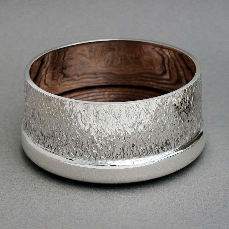 Sterling silver coaster