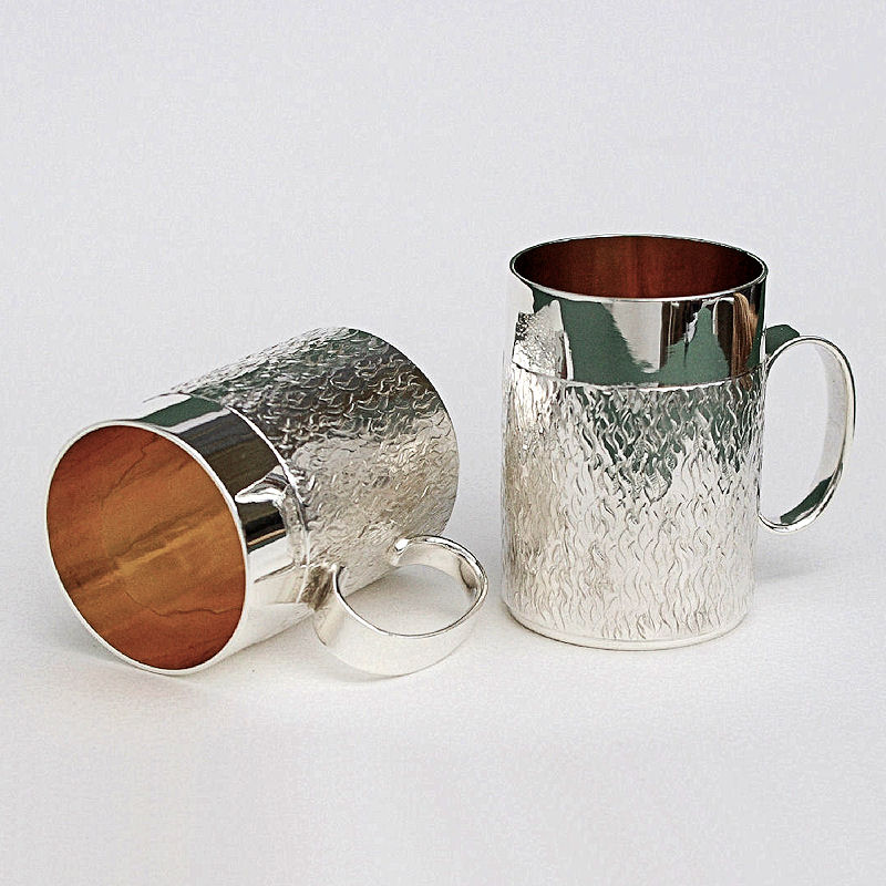 Silver shot glasses