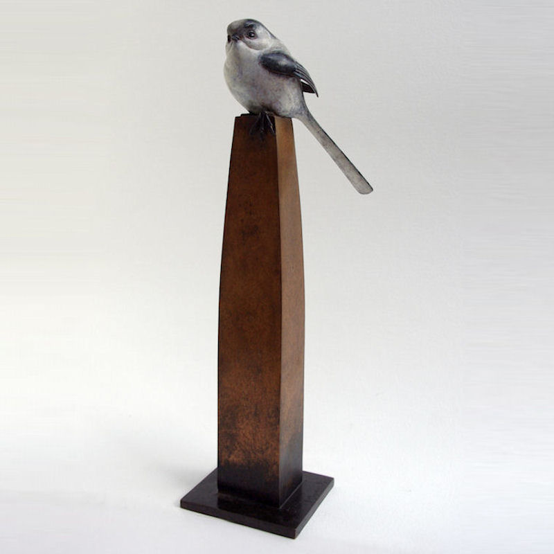Longtailed tit bronze