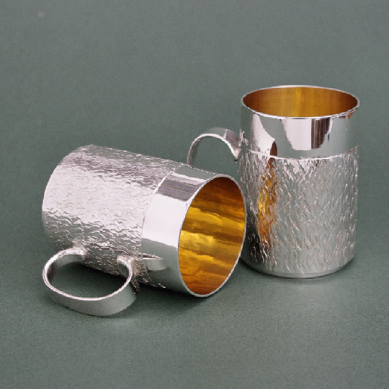 Silver Shot cups mugs