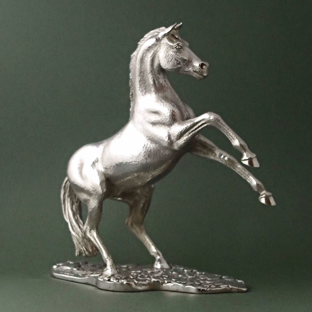solid Isilver  horse