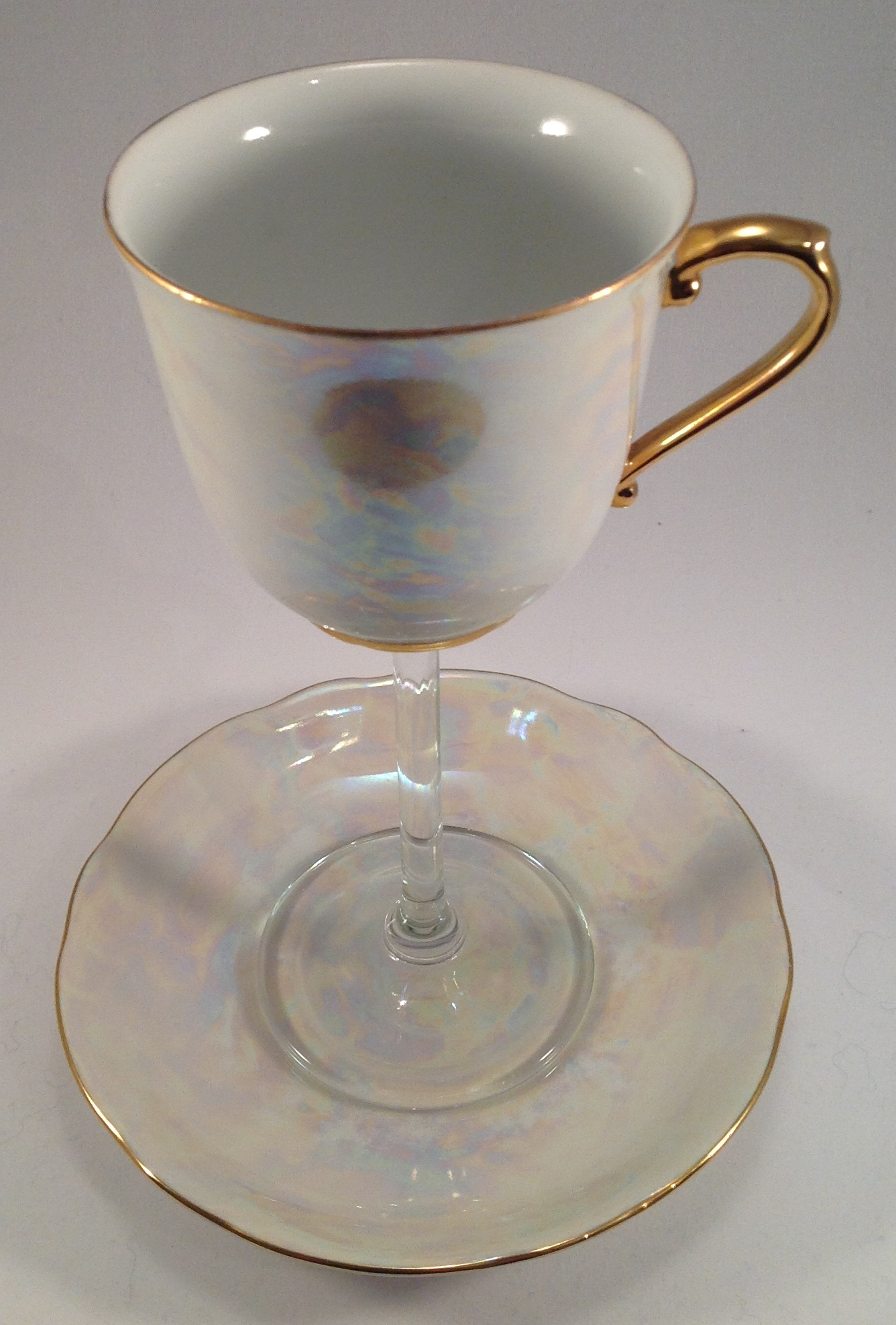 Pearlescent Bone China SOLD