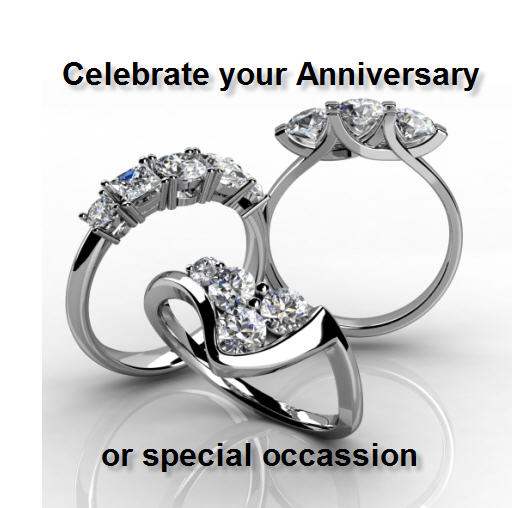 Bespoke rings and jewellery to help celebrate your special occassion