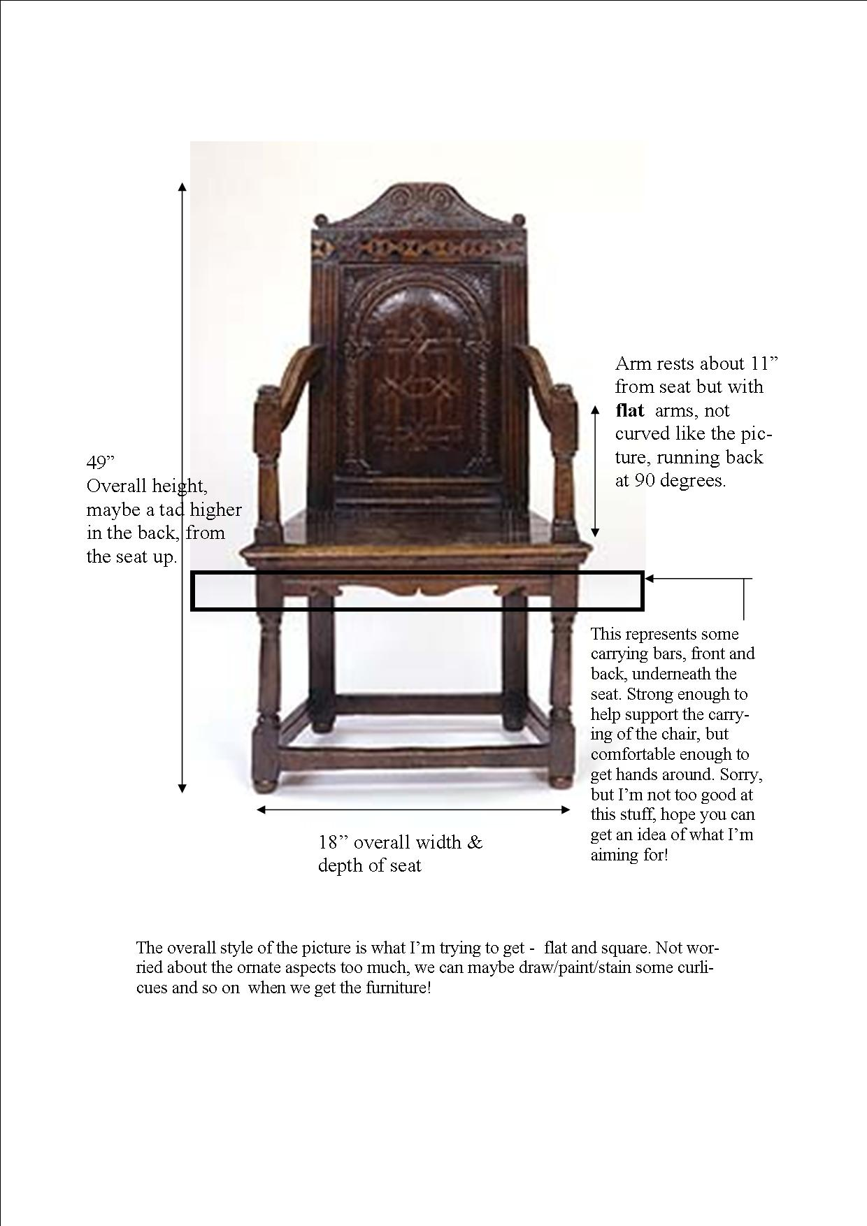 Chair for Lear