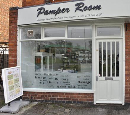 Pamper Room, Thurmaston, Leicester