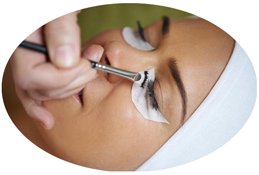 Lash & Brow Tinting available at Pamper Room