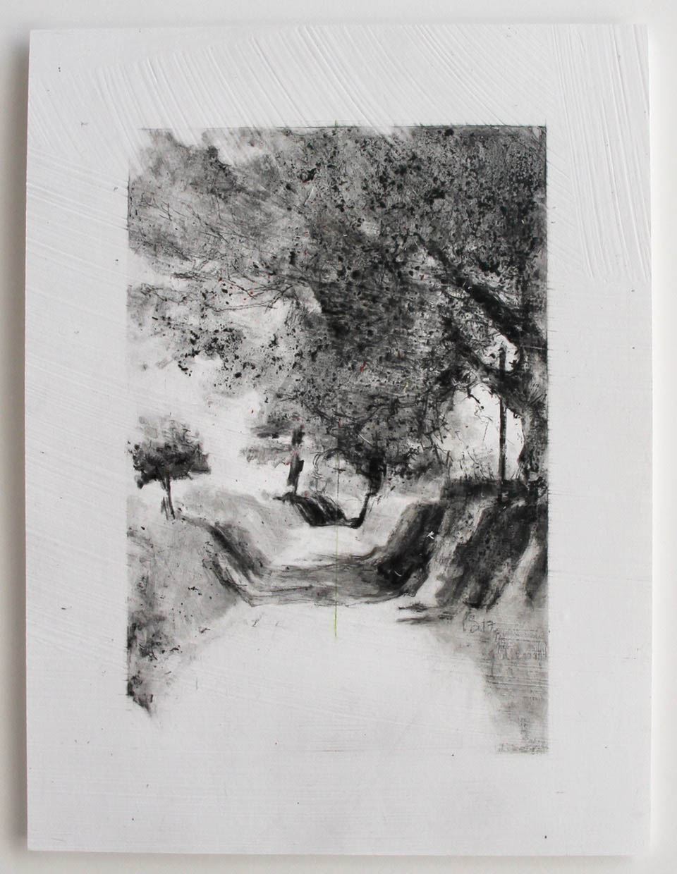 A Cathedral of Trees, Drawing 05-17 by Laurie Steen