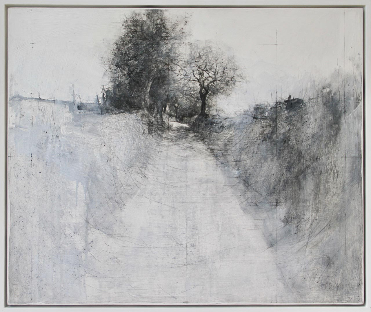 Graphite Painting, 08-16 by Laurie Steen