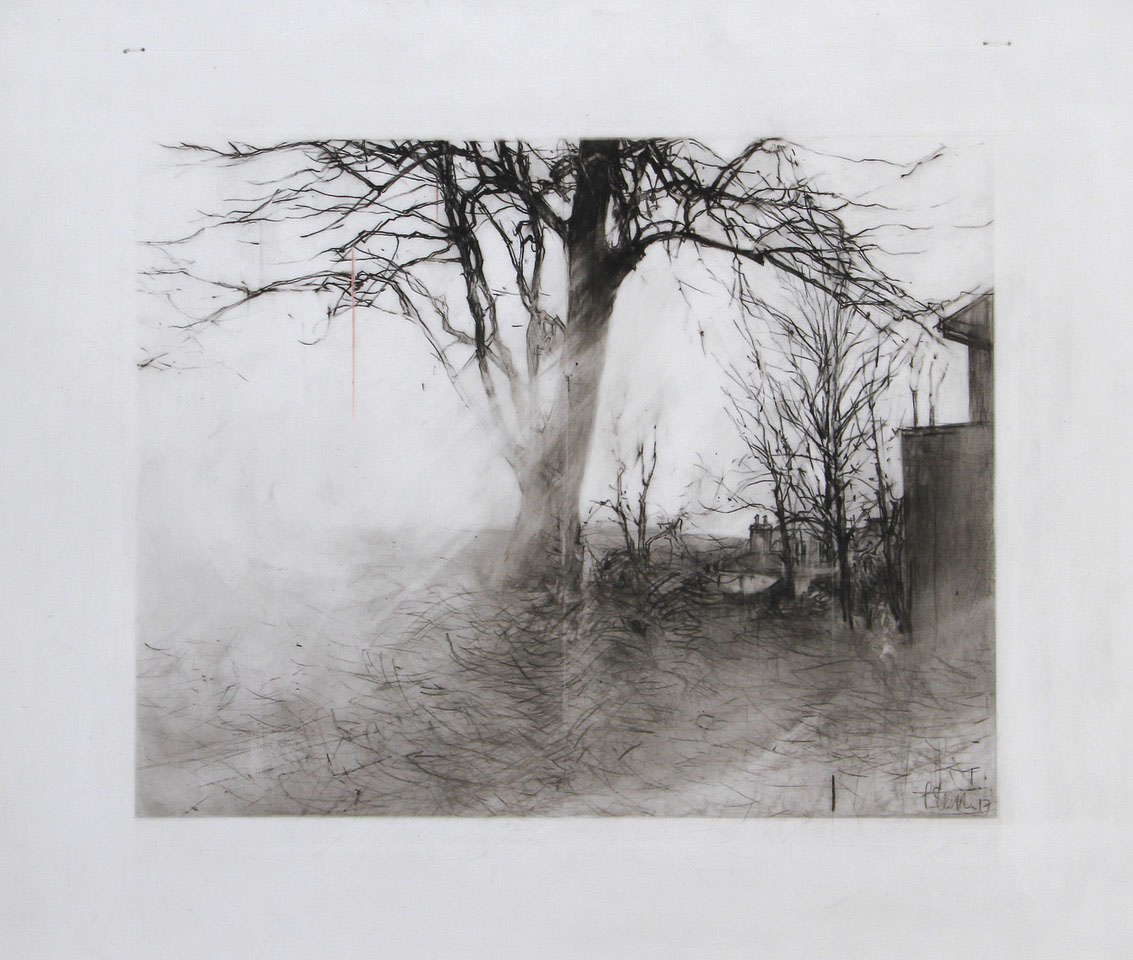 It's Heaven Here Drawing 15-17 by Laurie Steen
