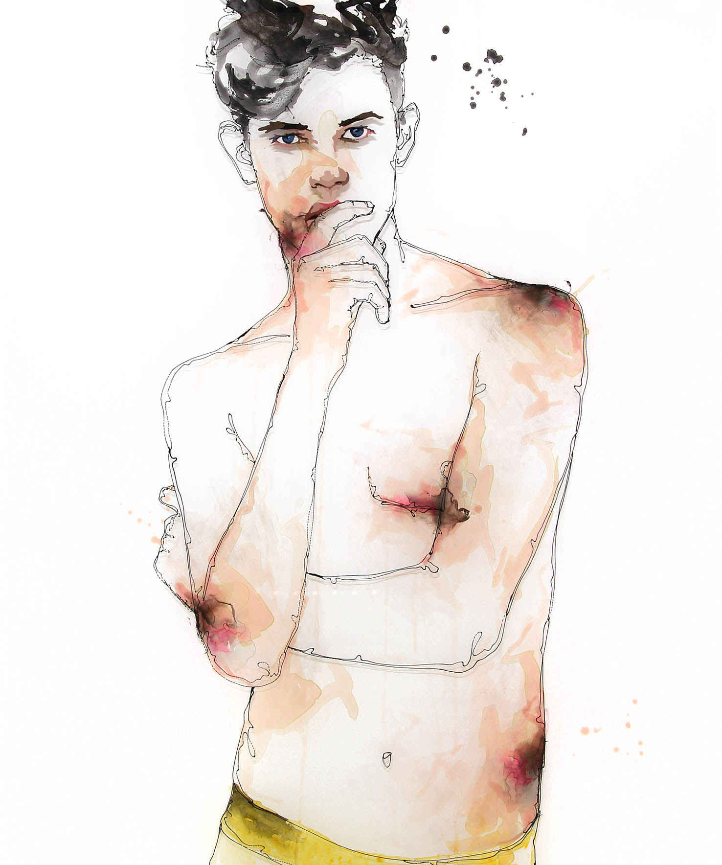 Untitled Male Portrait by Call Me Frank