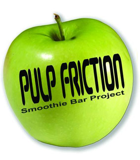 Pulp Friction Smoothie Bar Project Logo