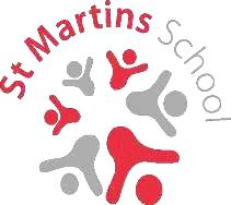 St Martins School Derby logo