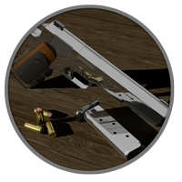 Hitman Hardballer Guns