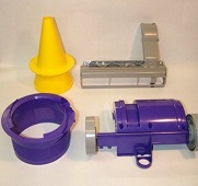 Examples of plastic injection moulds from tools made by Cobra Tool and Die Ltd