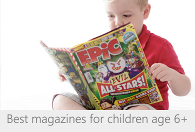 The best magazines for children age 6+