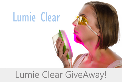 lumie clear giveaway