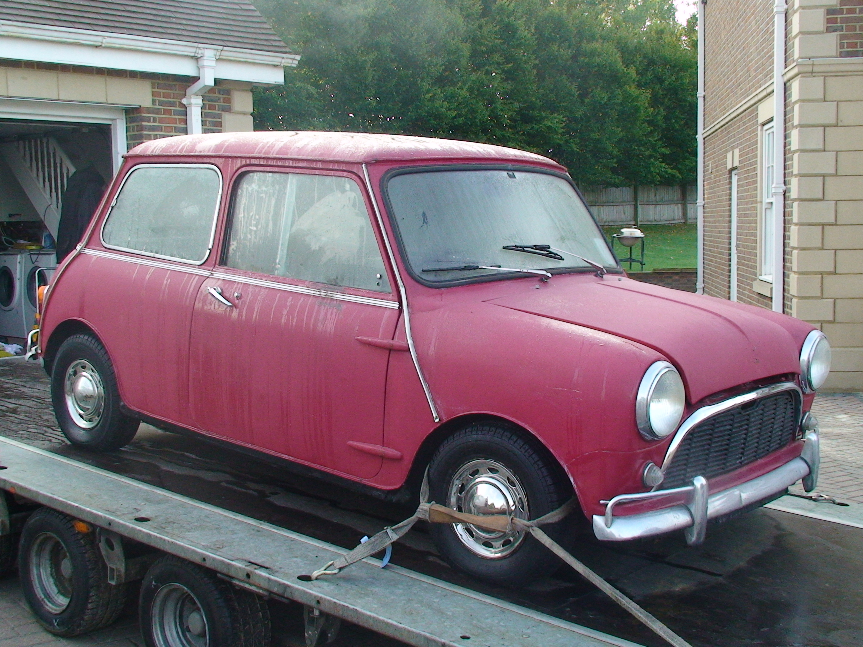 minifinity the classic mini forum and resource view topic my 1966 austin mini super deluxe. Black Bedroom Furniture Sets. Home Design Ideas