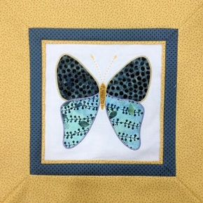 Applique' Butterfly - 28th September