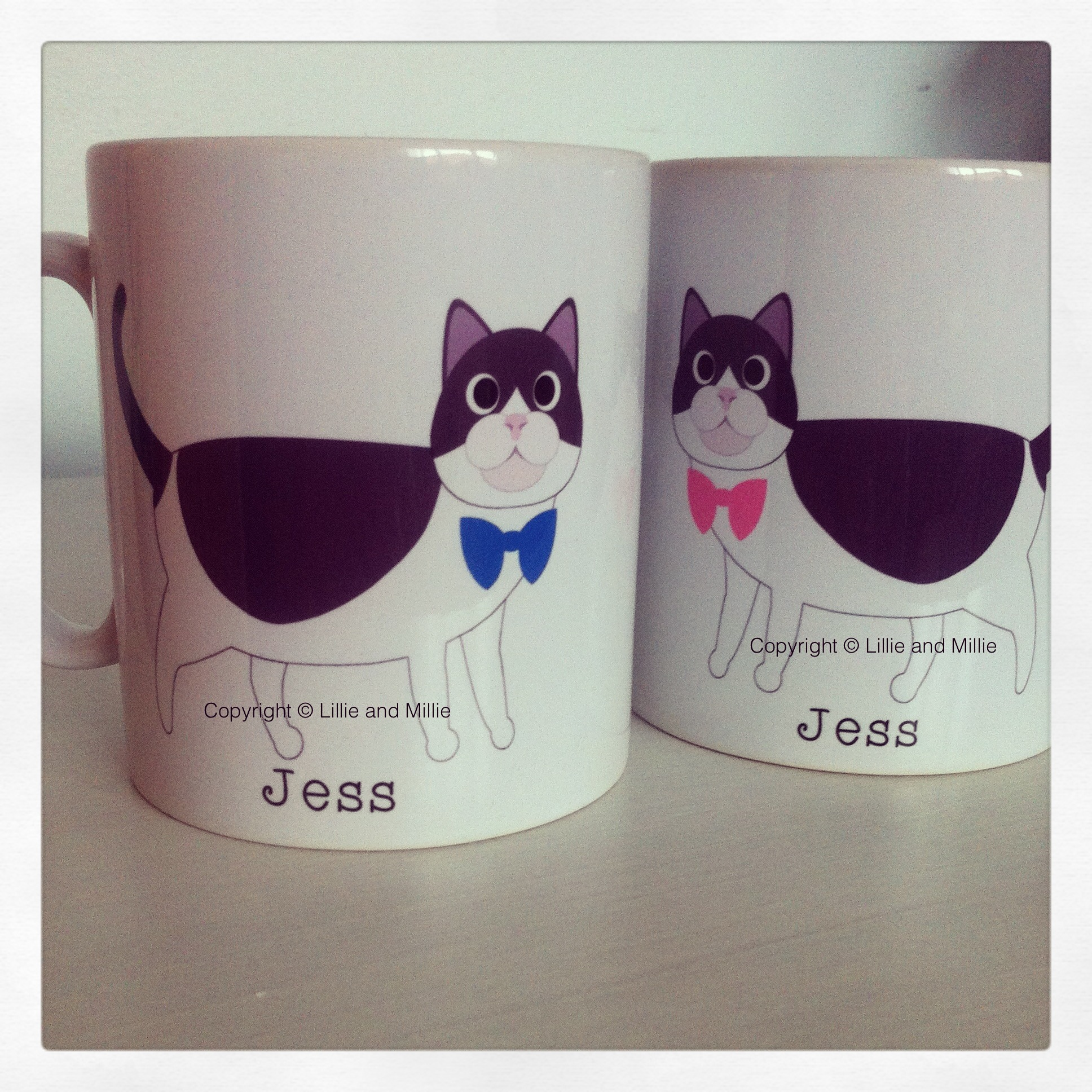 Lillie and Millie Cute and Cuddly Mug