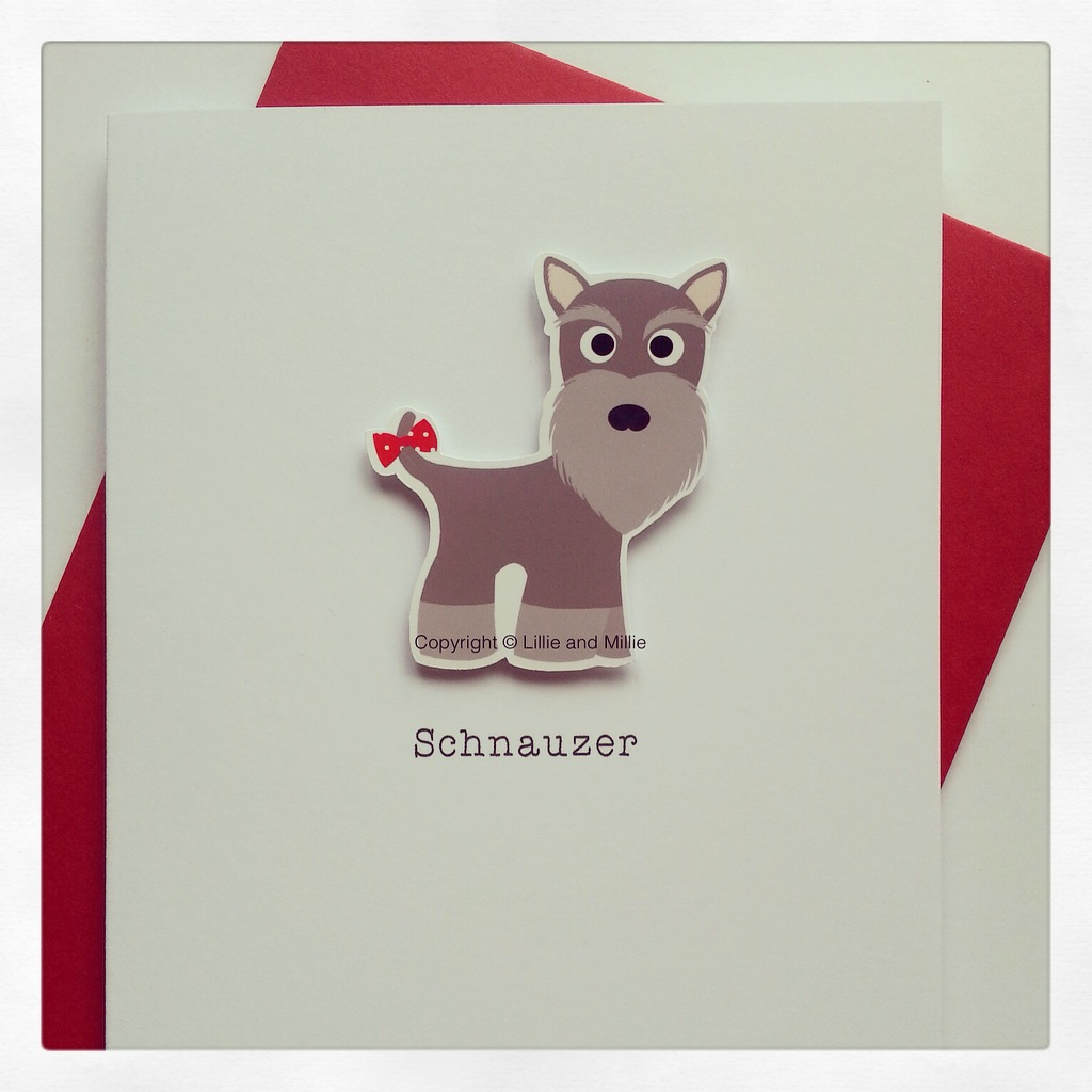 Cute and Cuddly Pepper and Salt Up Ear Card