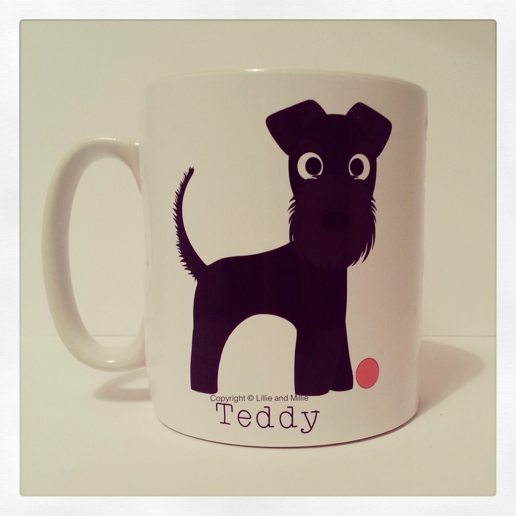 Cute and Cuddly Kerry Blue Terrier Mug
