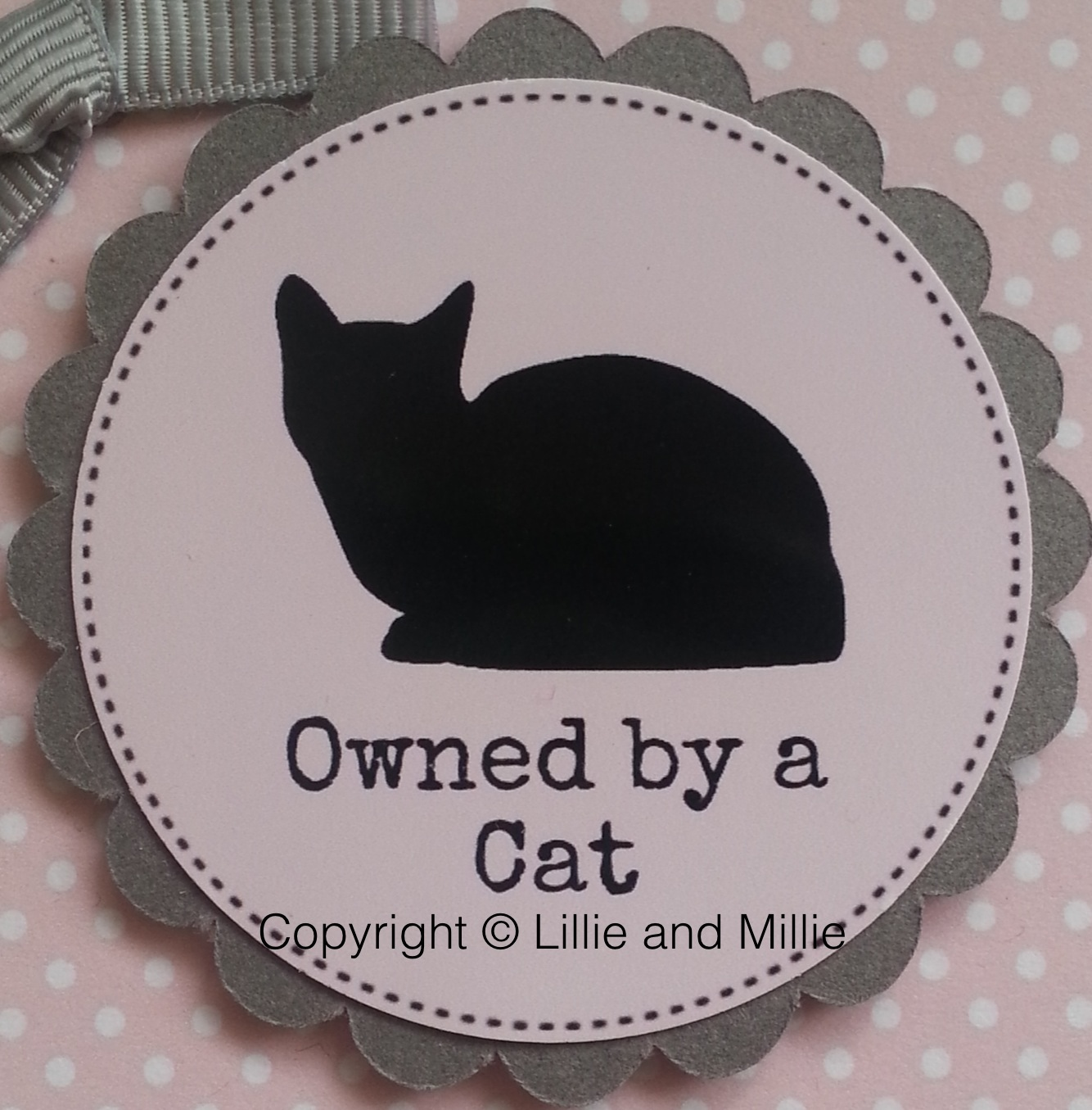 Owned by a Cat Card