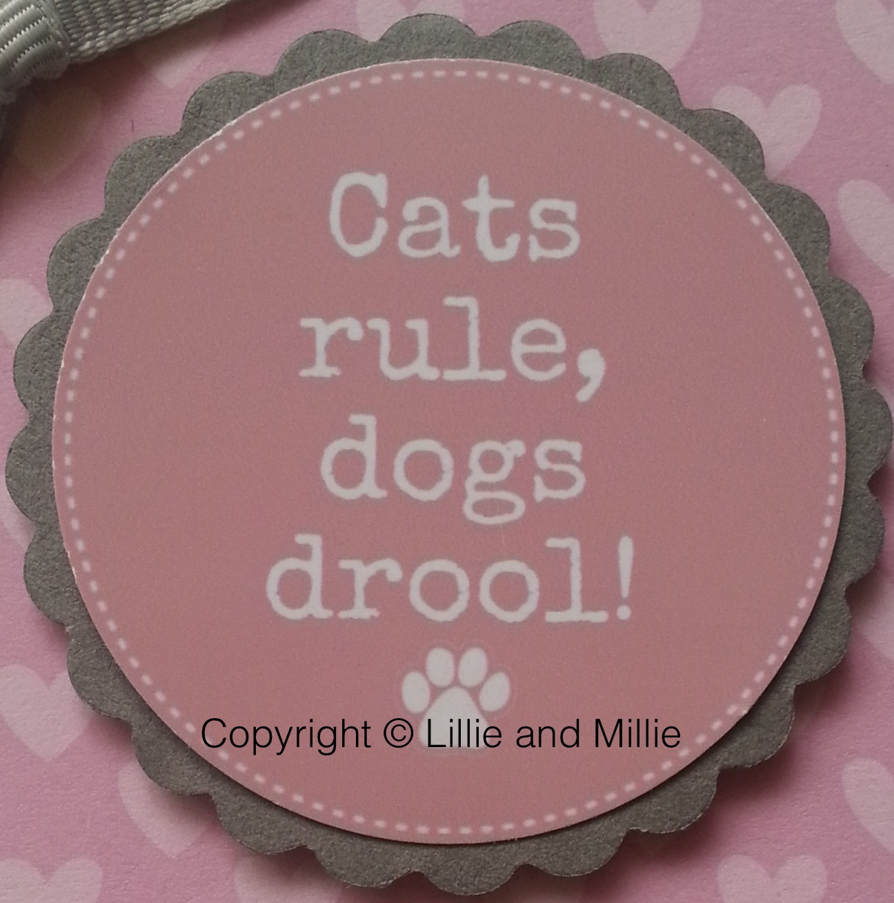 Cats Rule, Dogs Drool Card