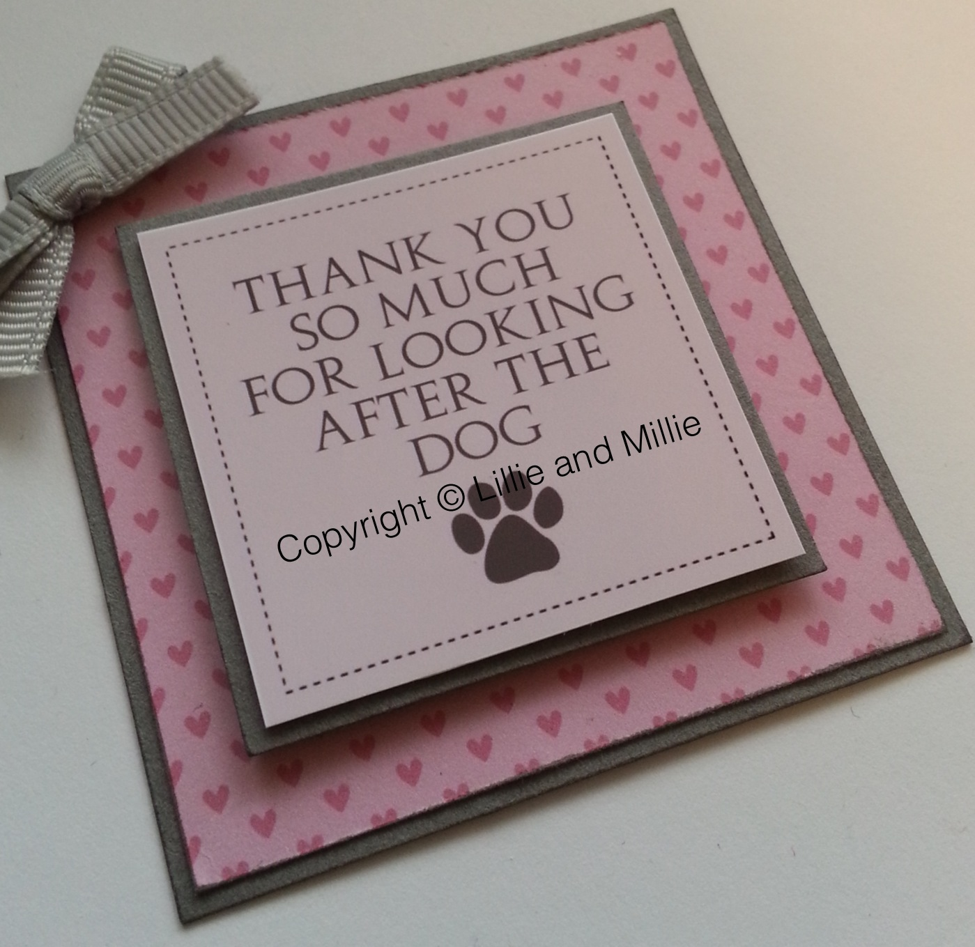 Thank You So Much for Looking After the Dog Card